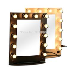 professional makeup artist lighting aliexpress buy professional lighted makeup mirrors metallic