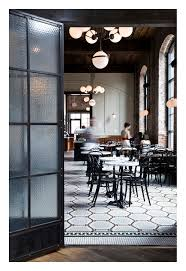 Cafe Swinging Doors Kitchen