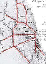 Map Chicago Suburbs by How Chicago Built Its U201csuperhighways U201d U2013 Tomasz U2013 Medium