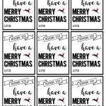 free printable christmas tags templates printable template 2017