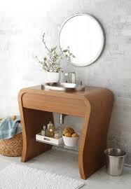 Adelina  Inch Vessel Sink Bathroom Vanity  Nice Modern - Bathroom vanity for vessel sink