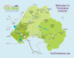 county map maps directions transportation information for tuolumne county