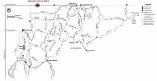 mt lemmon hiking trails map desert trails b b tucson arizona
