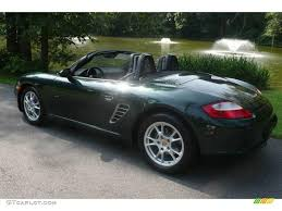 dark green porsche 2006 forest green metallic porsche boxster 14925101 photo 10