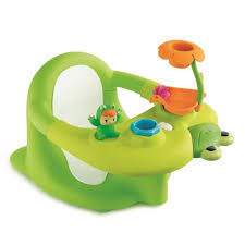siège de bain pour bébé cotoons siège de bain vert vert achat vente assise bain bébé