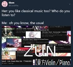 Beethoven Meme - classical composers like beethoven mozart zun and vivaldi touhou