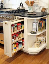Kitchen Cabinet Organizer Ideas by Kitchen Pull Out Spice Rack For Deliver More Goods To You