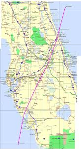 Brooksville Florida Map by Charley 8 13 2004