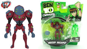 ben 10 omniverse water hazard action figure toy review bandai