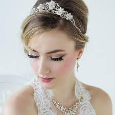 bridal tiara gold wedding tiara arianna zaphira bridal