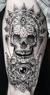 173 awesome skull tattoo designs who makes skull tattoos tattoozza