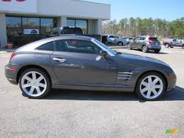 graphite metallic 2004 chrysler crossfire limited coupe exterior