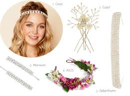 monsoon hair accessories 22 heavenly wedding hair accessories from the high