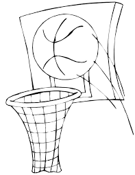 printable basketball coloring pages coloring