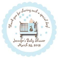 Stickers For Favors by Personalized Stickers For Baby Shower Favors 13970