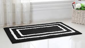 White Bathroom Rugs 8 10 Rugs On Modern Rugs With Inspiration Black And White Bath Rug