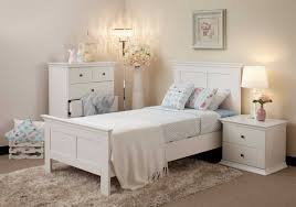 bedroom twin size white country wooden sleigh bed modern