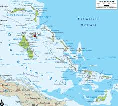 Flamingo Map Bahamas Map Travel Map Vacations Travelsfinders Com