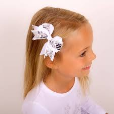 sparkly hair sparkly hair bow by candy bows notonthehighstreet
