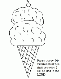 ice cream and popsicle printable coloring pages coloring home