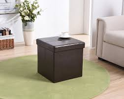 Ottoman Storage Tray by Ottomans Ottoman With Reversible Tray Tops Square Ottoman With