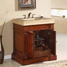 bathroom furniture mahogany wood silver wall mounted wicker