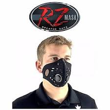rz mask rz mask regular air filtration mask protective mask black 5