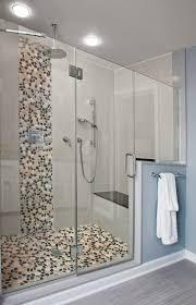 Waterfall Glass Tile Spa Bathrooms Designs U0026 Remodeling Htrenovations