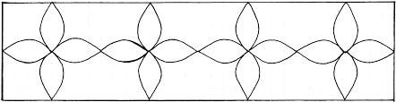 Black And White Border Tiles Motif Border E 2x8 Pratt U0026 Larson