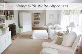 how i keep my white slipcovers white the adventures of the