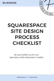 Home Design Client Questionnaire by My Complete Squarespace Website Design Client Process Checklist