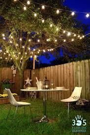 deck lighting ideas hang patio lights white mini wrap columns