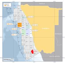 Namibia Map Azinam Becomes Operator Of Exploration Licence Offshore Namibia
