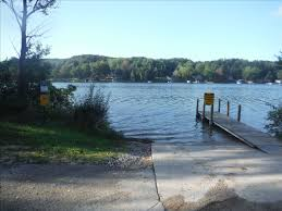 Michigan Dnr Lake Maps by Clam Lake Dnr Access Site Michigan Water Trails