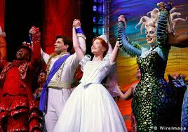 The Little Mermaid Curtains The Little Mermaid On Broadway Images Cast Curtain Call 2