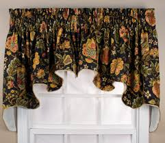 decor u0026 tips window molding with waverly curtains and floral