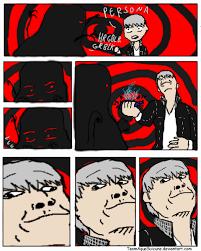 Card Crusher Meme - persona 4 card crush by teamaquasuicune on deviantart