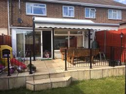 Electric Patio Awning Half Price 299 5m X 3m Full Cassette Electric Garden Patio