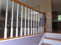 Sanding Banister Spindles Best 25 Painted Stair Railings Ideas On Pinterest Railings