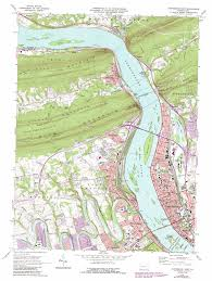 A Map Of Pennsylvania by Harrisburg West Topographic Map Pa Usgs Topo Quad 40076c8