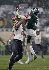 Maryland travel pass images No 22 michigan state beats maryland 17 7 in the snow jpg