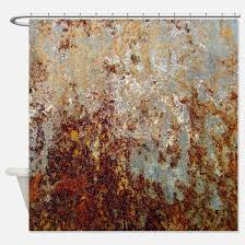 Shower Curtain Blue Brown Brown Shower Curtains Cafepress