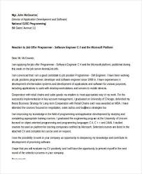 software engineer cover letter 6 software developer cover letters free premium templates