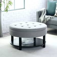 round upholstered coffee table small upholstered footstool medium size of coffee ottoman coffee