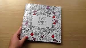 magic garden colouring book share youtube