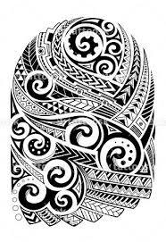 sbink polynesian tribal half sleeve tattoo https tattoosk