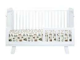 Babyletto Hudson Convertible Crib Babyletto Hudson 3 In 1 Convertible Crib With Toddler Rail White
