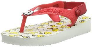 brazilian havaianas havaianas baby snoopy girls u0027 walking shoes