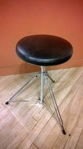 vintage rogers drum throne throne w samson memory lock reverb