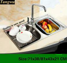 Online Get Cheap Kitchen Double Sink Aliexpresscom Alibaba Group - Kitchen double sink